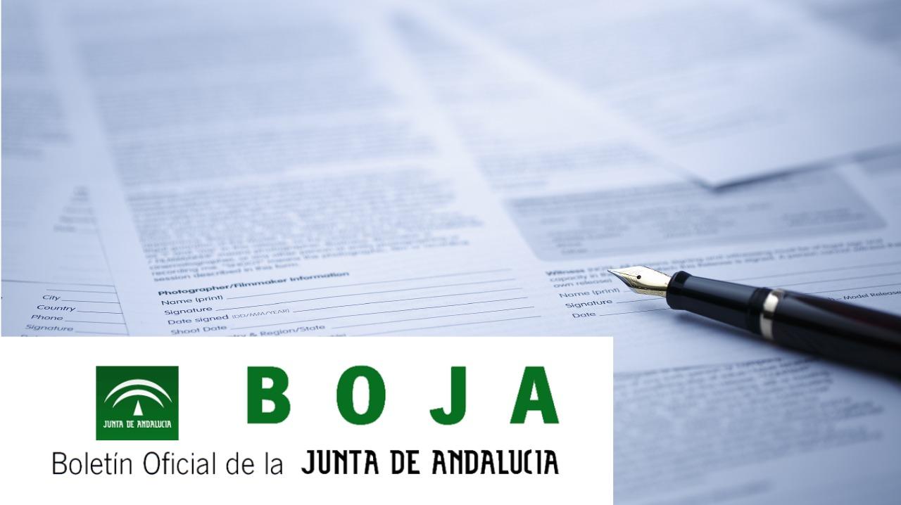 BOJA - Boletín Oficial de la Junta de Andalucía