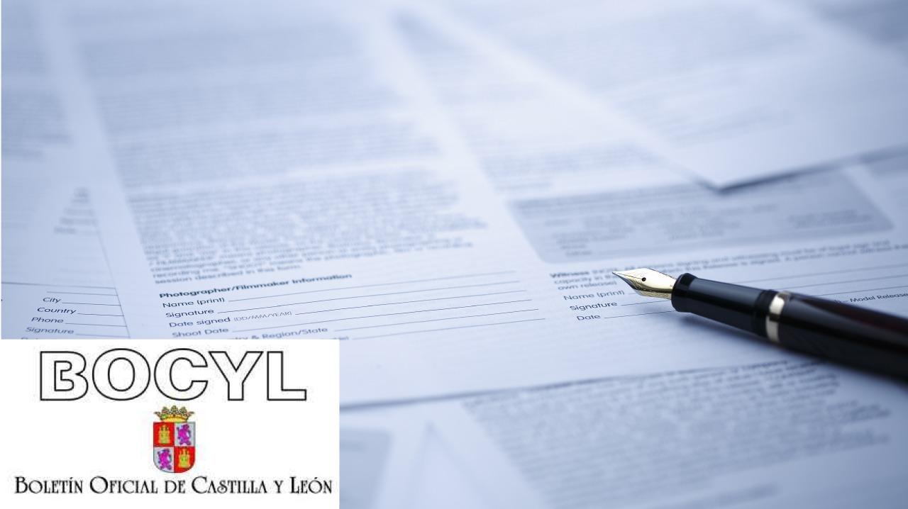 BOCYL - Boletín Oficial de Castilla y León