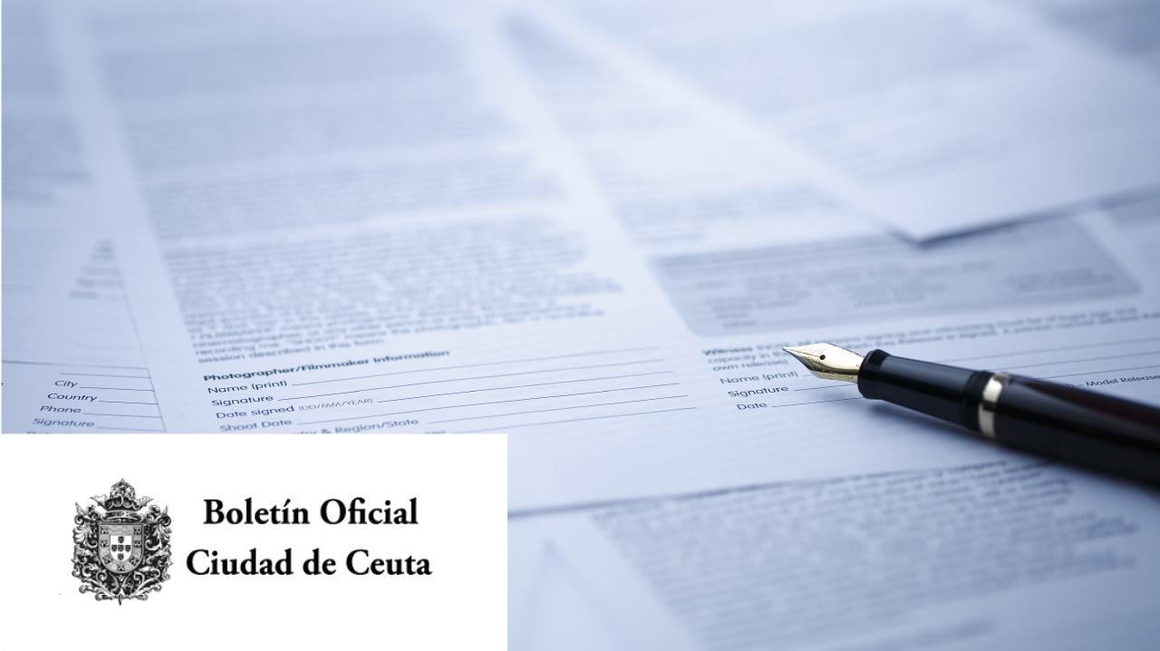 Boletín Oficial Ciudad de Ceuta