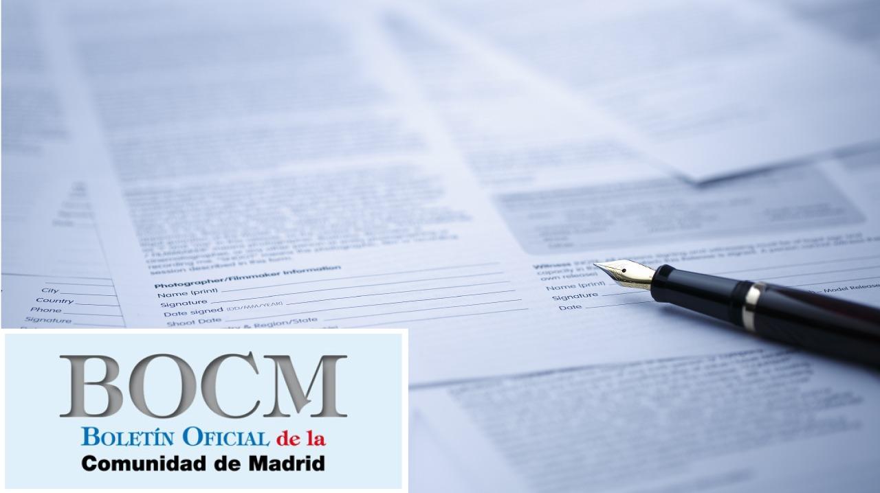BOCM - Boletín Oficial de la Comunidad de Madrid