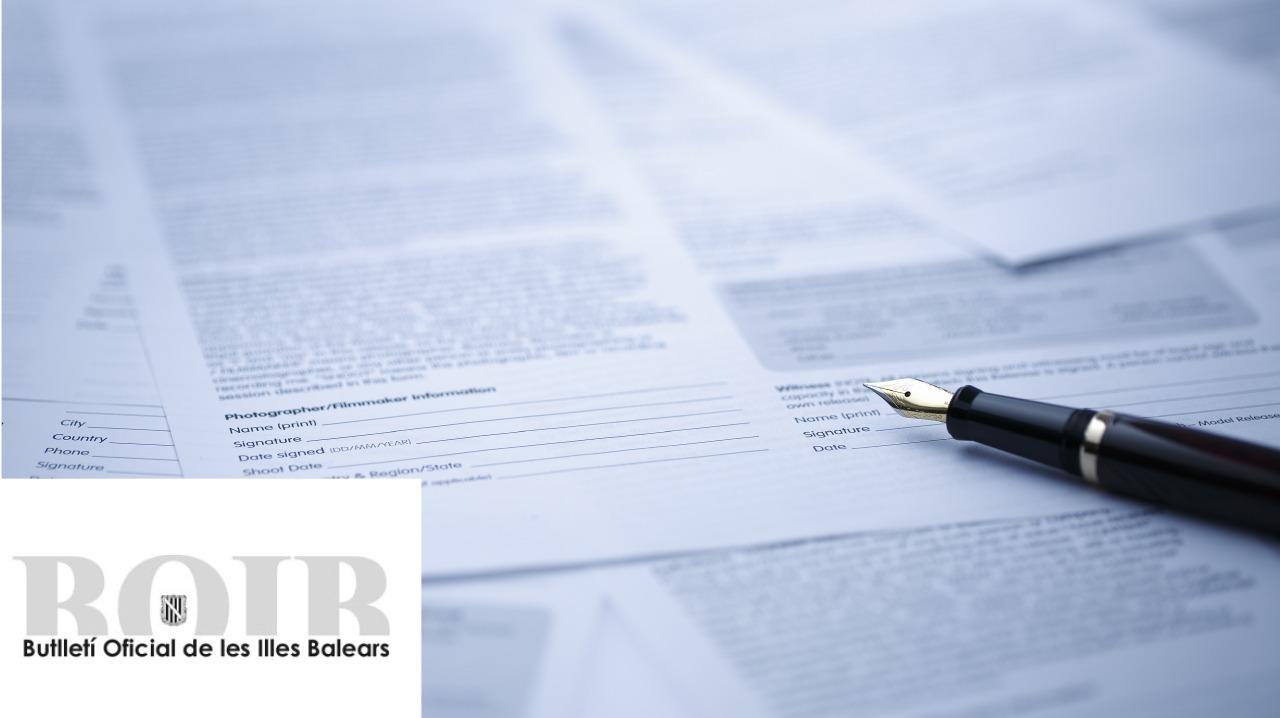 BOIB - Butlletí Oficial de les Illes Balears